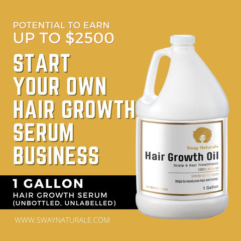 Gallon of Hair Growth Oil