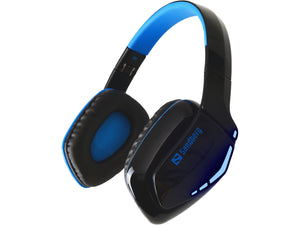 Sandberg Blue Storm Wireless Headset Слушалки