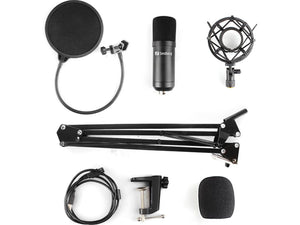 Sandberg Streamer USB Microphone Kit, Комплект USB микрофон
