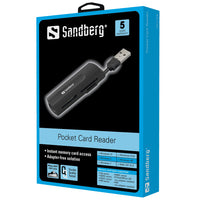 Sandberg USB 2.0 Pocket Card Reader Четец за карти
