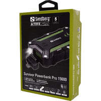 Sandberg Survivor Powerbank 15600 Pro Външна батерия