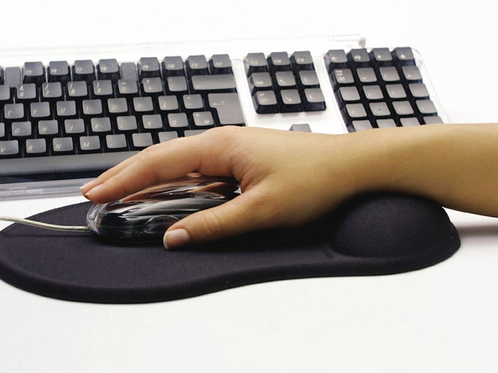 Sandberg Gel Mousepad with Wrist Rest Подложка за мишка
