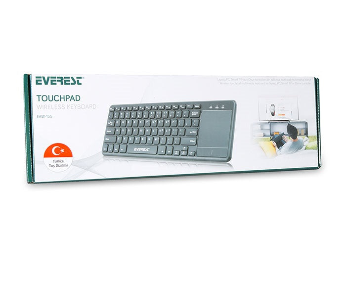 Everest EKW-155 Безжична клавиатура с Touch pad