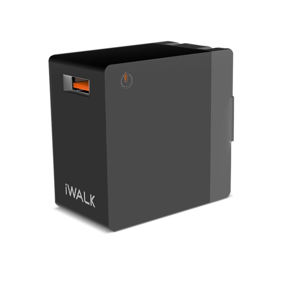 Комплект зарядно за стена iWALK Wall Charger QC3.0 18W  и пад за зарежане Sandberg Wireless pad 5W
