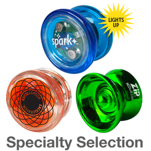 AU Specialty Selection: professional long spin yos for special effects and tricks