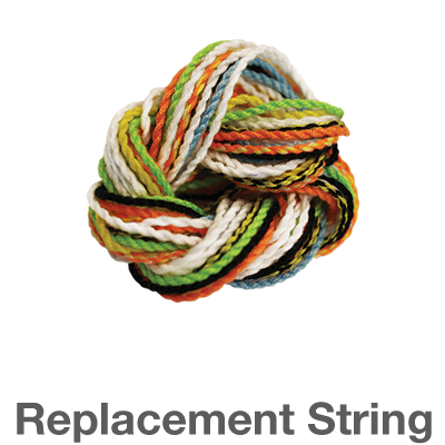 Replacement String: change colors for fun or replace worn out strings