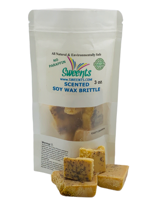 Toasted Cinnamon  (Cinnamon) Wax Brittle