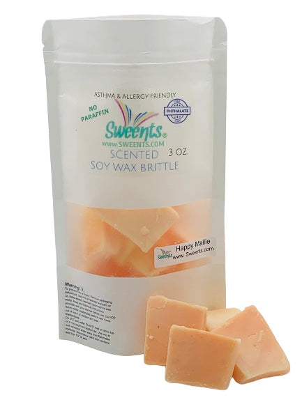 Happy Mallie ( Pineapple Cotton Candy) Wax Brittle