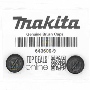 Genuine Makita 643600-9 Carbon Brush Caps 1100 4014NV 4105KB 5801B 6906 9005