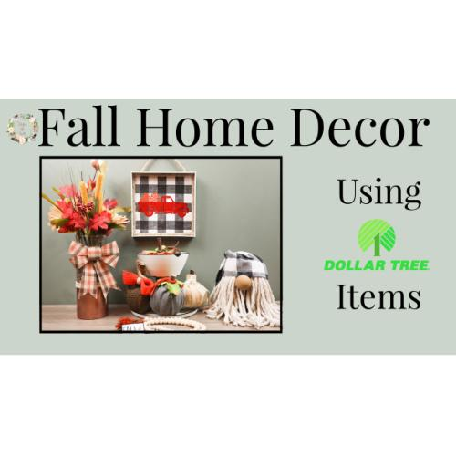 Fall Home Decor | Copper Vase | Dollar Tree Crafts