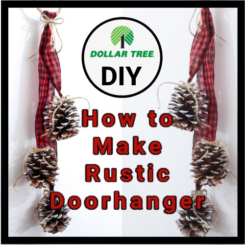 How to Make a Rustic Farmhouse Door Hanger