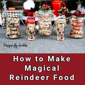 Magical Christmas Eve Reindeer Food Recipe and Cute Containers