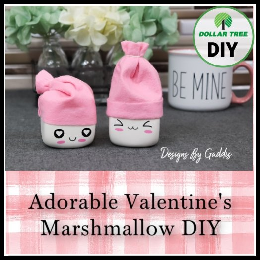 The Cutest DIY Valentine's Tiered Tray Marshmallows EVER!
