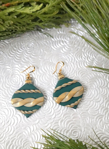 Fancy Green Ornaments