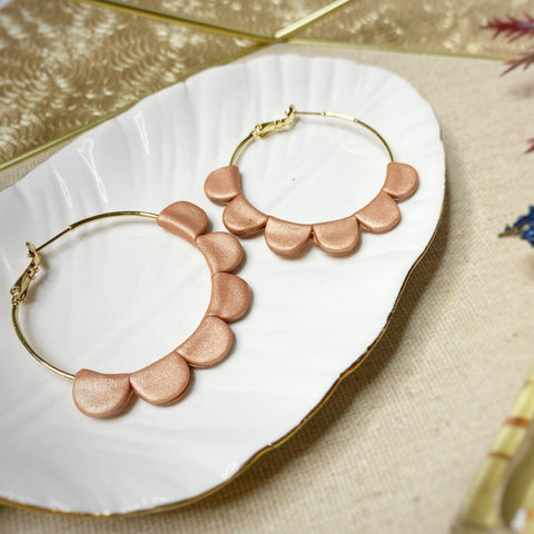 Copper Darcy Hoops