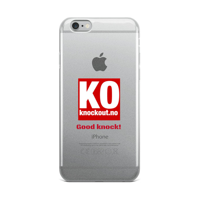 Good knock! Iphone case