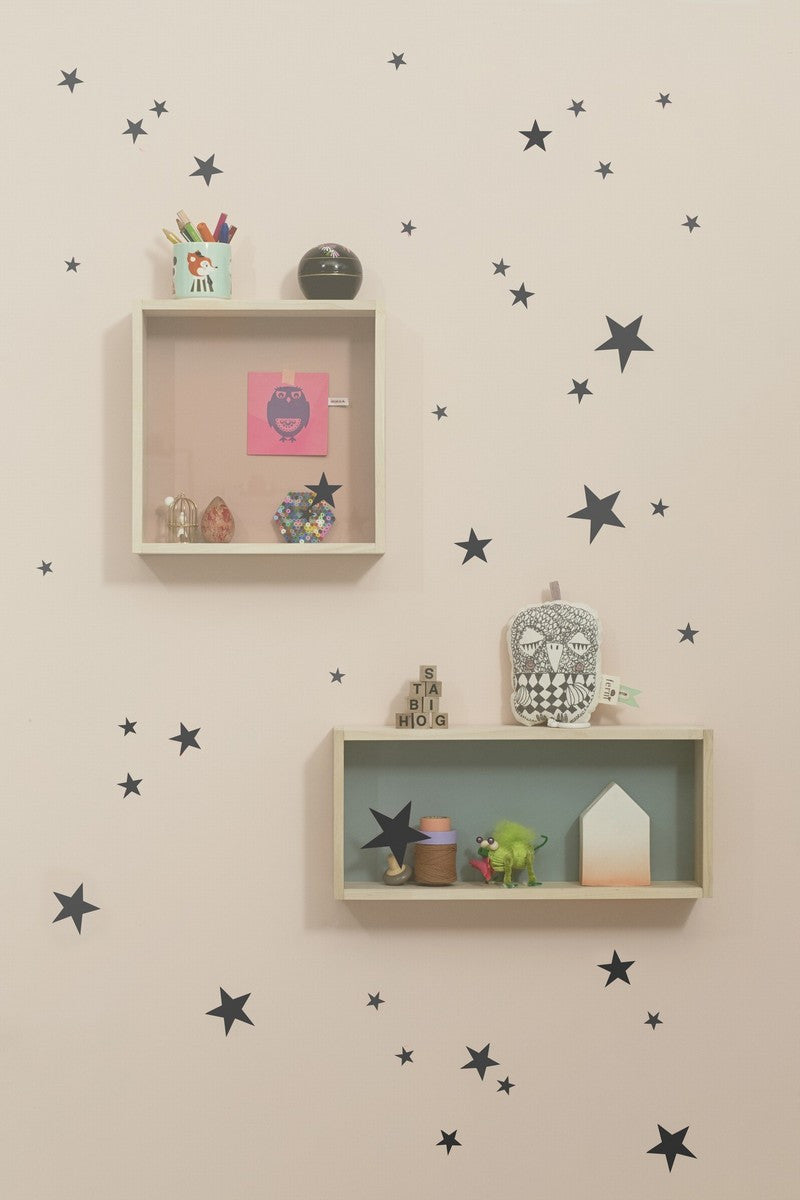 Mini Stars Wall Sticker (Black)