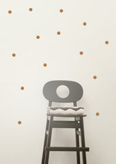 Mini Dots Wall Sticker (Copper)