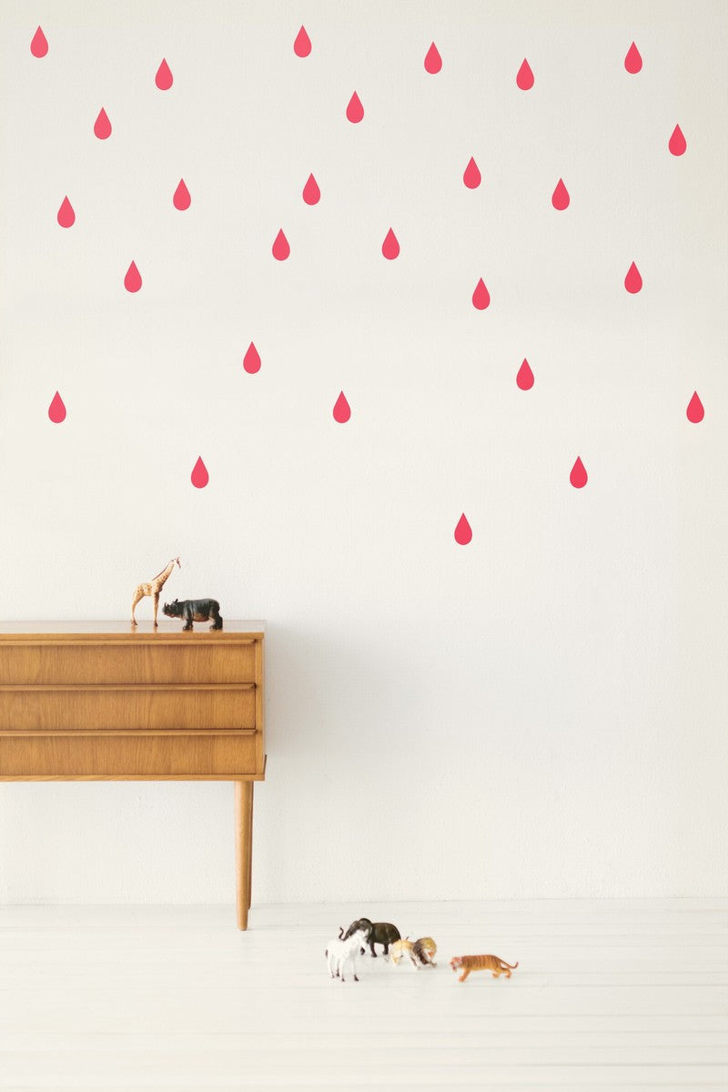 Mini Drops Wall Sticker (Neon)