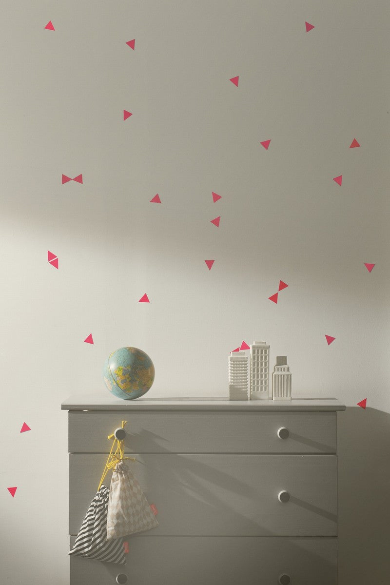 Mini Triangle Wall Sticker (Neon)