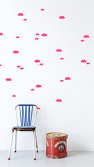Mini Clouds Wall Sticker (Neon)
