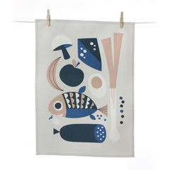 Grocery Tea Towel