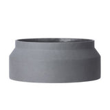 Concrete Pot (Dark Gray/Large)