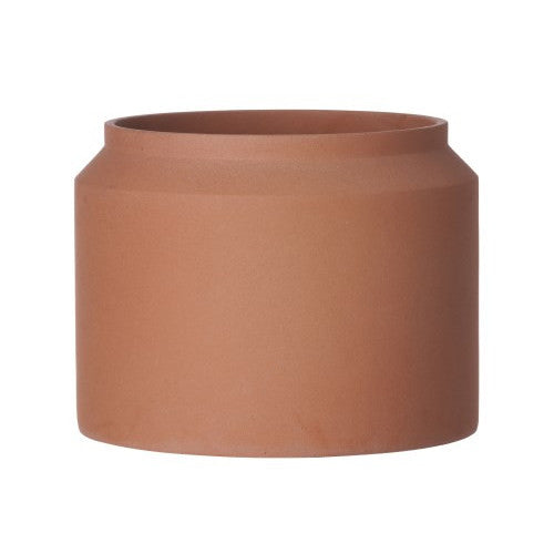 Concrete Pot (Ochre/Large)
