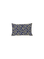 Salon Cushion Flower Blue