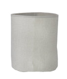 Gray Cross Basket Medium