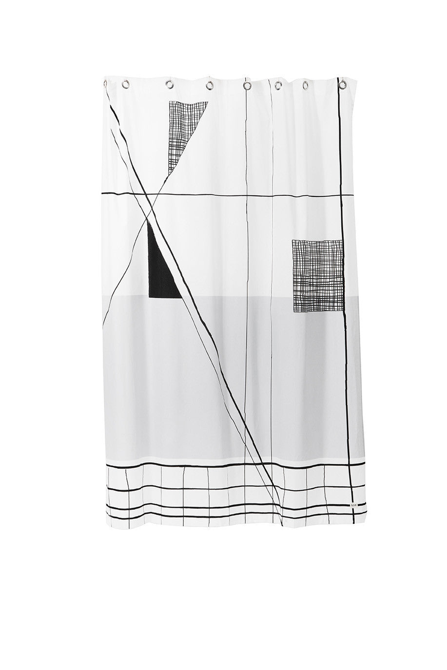 Trace Shower Curtain