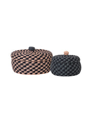 Braided Baskets (Set of 2)