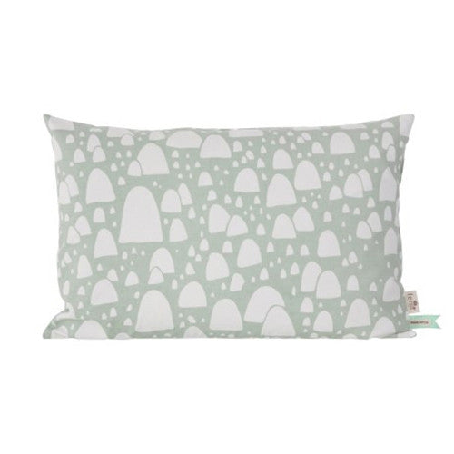 Mountain Tops (Mint) Cushion