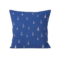 Cone Pillow (Blue)