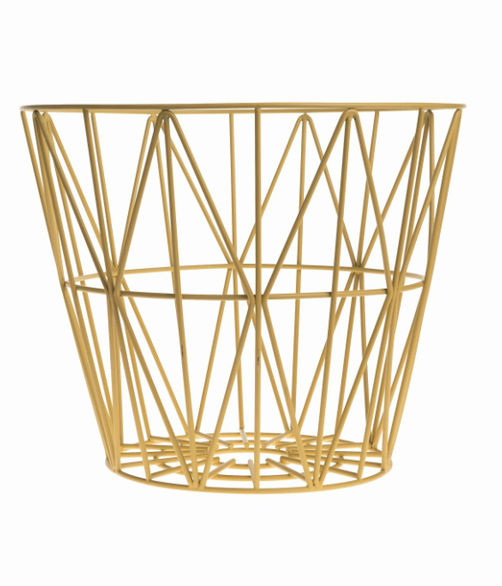 Wire Basket Yellow