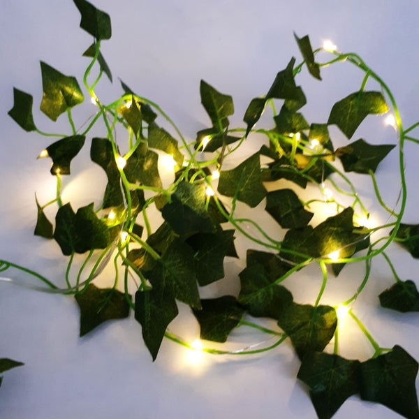 LED ivy garland fairy lights - battery