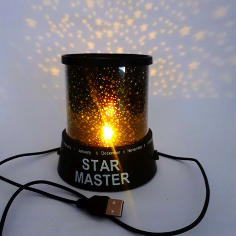 LED star master light - battery and USB