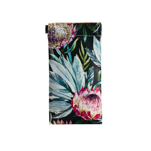 sunglasses case - protea design