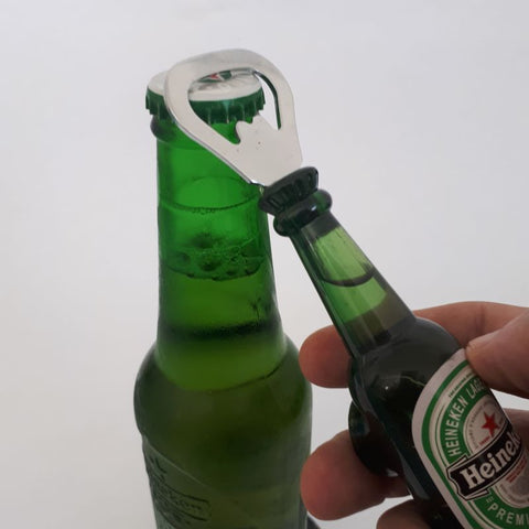 bottle opener magnet - beer bottle