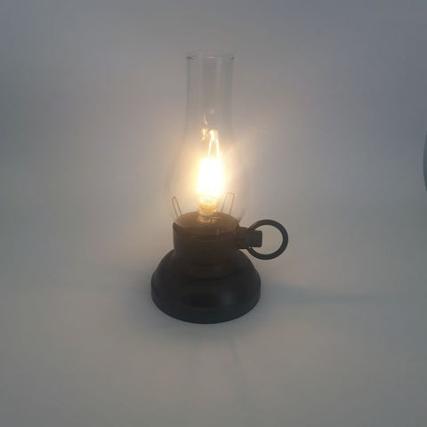 black LED lantern - battery operated