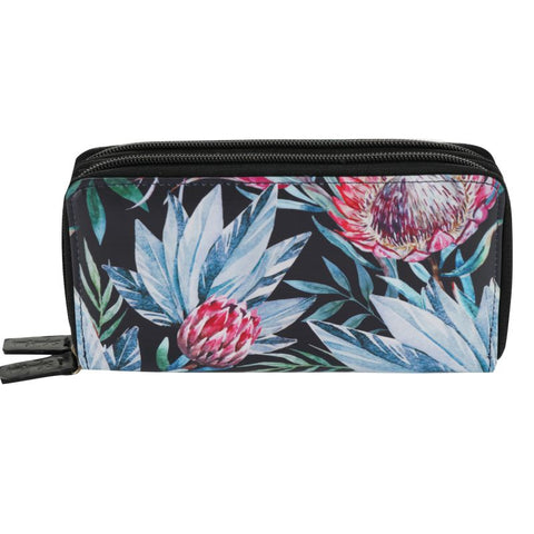 black protea wallet