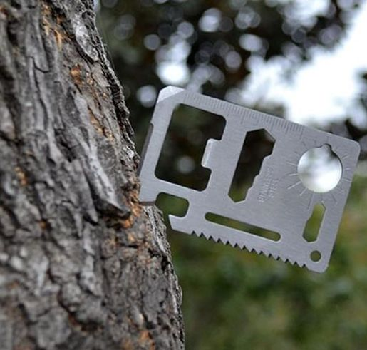 bottle opener - survival card