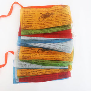 buddhist prayer flags - 5m