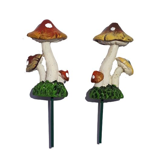 ceramic mushroom set - small