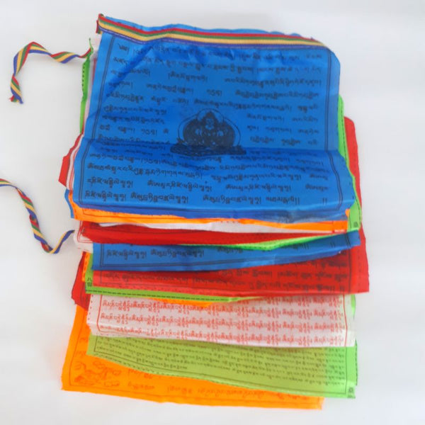 colourful buddhist prayer flags - 5m