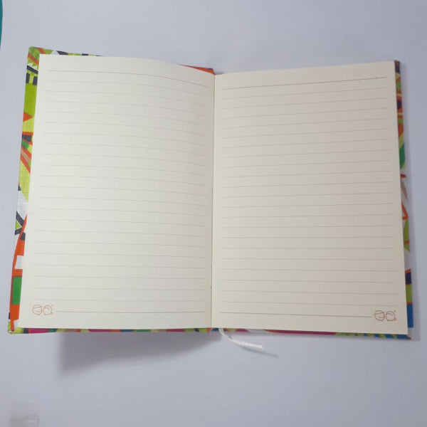colourful geometric journal