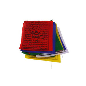 colourful prayer flags - 1 meter