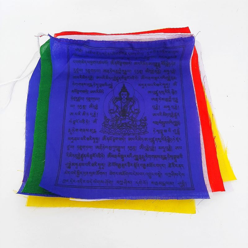 colourful prayer flags - 2.5 meter