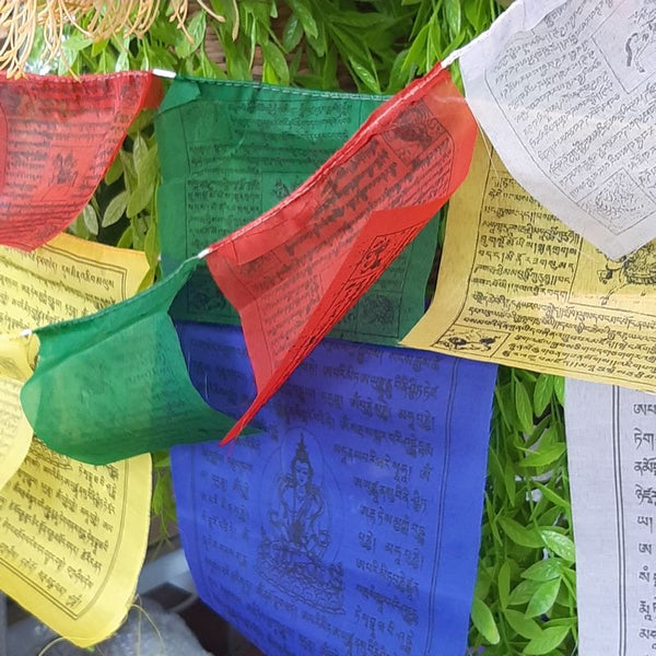colourful prayer flags - 4.5 meter