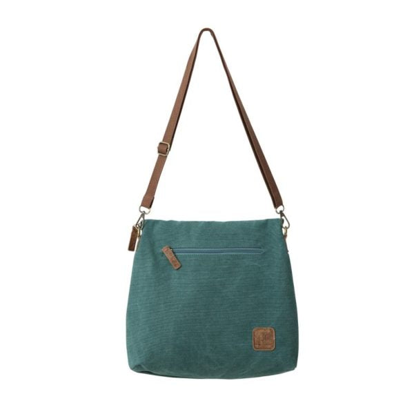 teal convertible bag